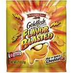 Goldfish Crackers  (Hot & Spicy Cheddar) 1.5 oz. Bag