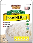 Golden Star Organic Jasmine Rice Microwaveable Pouch 8.5 OZ