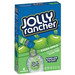 Jolly Rancher Singles To-Go Drink Mix, Green Apple 6 Packets