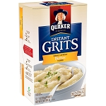 Quaker Instant Grits, Butter, 1 oz Packets, 12 Count