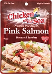 Chicken of the Sea Skinless Boneless Pink Salmon in Pouch 2.5 oz