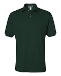 Jerzees Adult 5.6 oz. SpotShield  Jersey Polo (Forest Green)