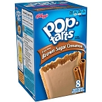 Kellogg's Pop-Tarts Frosted Brown Sugar Cinnamon Toaster Pastries, 14 oz