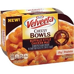 Kraft Velveeta Cheesy Bowls Buffalo Style Chicken Mac, 9 oz