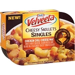 Kraft Velveeta Cheesy Skillets Singles Chicken Chili Cheese Mac, 9 oz