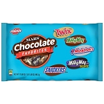 Mixed Miniatures Variety  (TWIX, MILKY WAY, SNICKERS, 3 MUSKETEERS Brands) 17.5 oz Bag