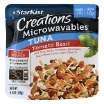 Starkist Microwavables Creations Tuna Pouch Tomato Basil - 4.5oz