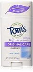 Tom's of Maine Natural Original Care Deodorant Stick, Unscented, 2.25 Ounce