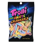 Trolli Sour Brite Crawlers Gummi Candy, 8 oz