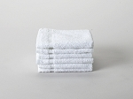 100% Cotton Washcloth - White 12 x 12